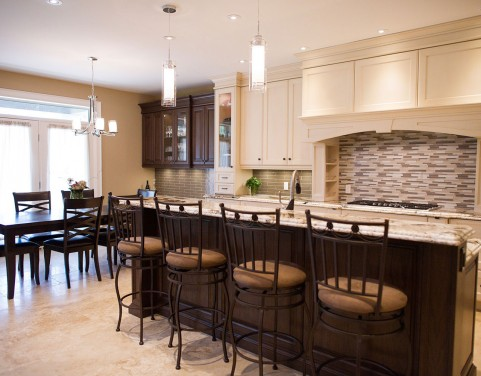 Kitchen Renovation - Breakfast bar