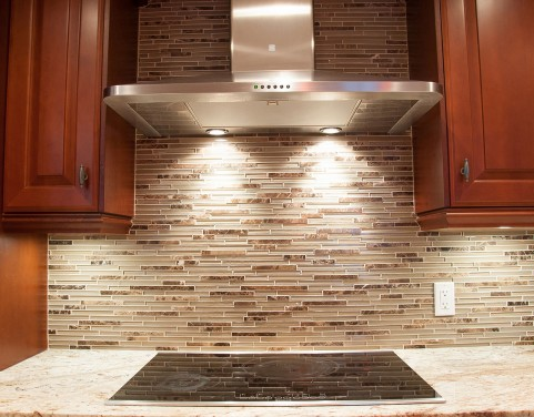 kitchen reno - range hood