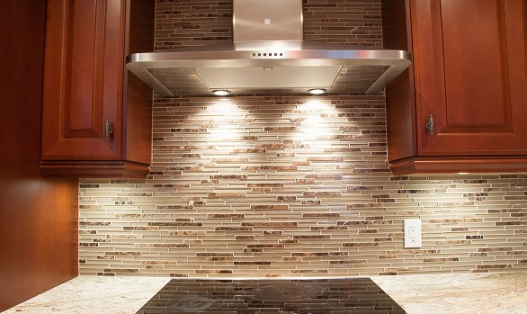 kitchen reno - range hood