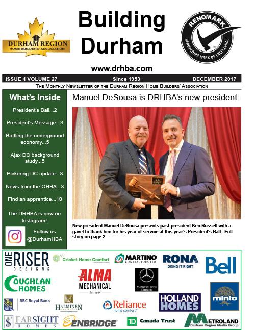 DRHBA Newsletter